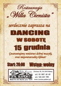 Plakat dancing 15.12.2018